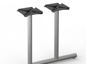 Tubular Series – 101 Radiused End Base – Double Column