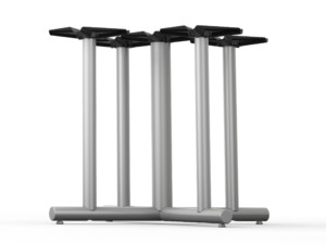 Tubular Series – 111 Radiused X-Base – Five Columns