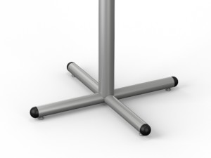 Tubular Series – 212 Bullnosed X-Base – Single Column
