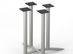 Arch Series 411 X-Bases – Four Column