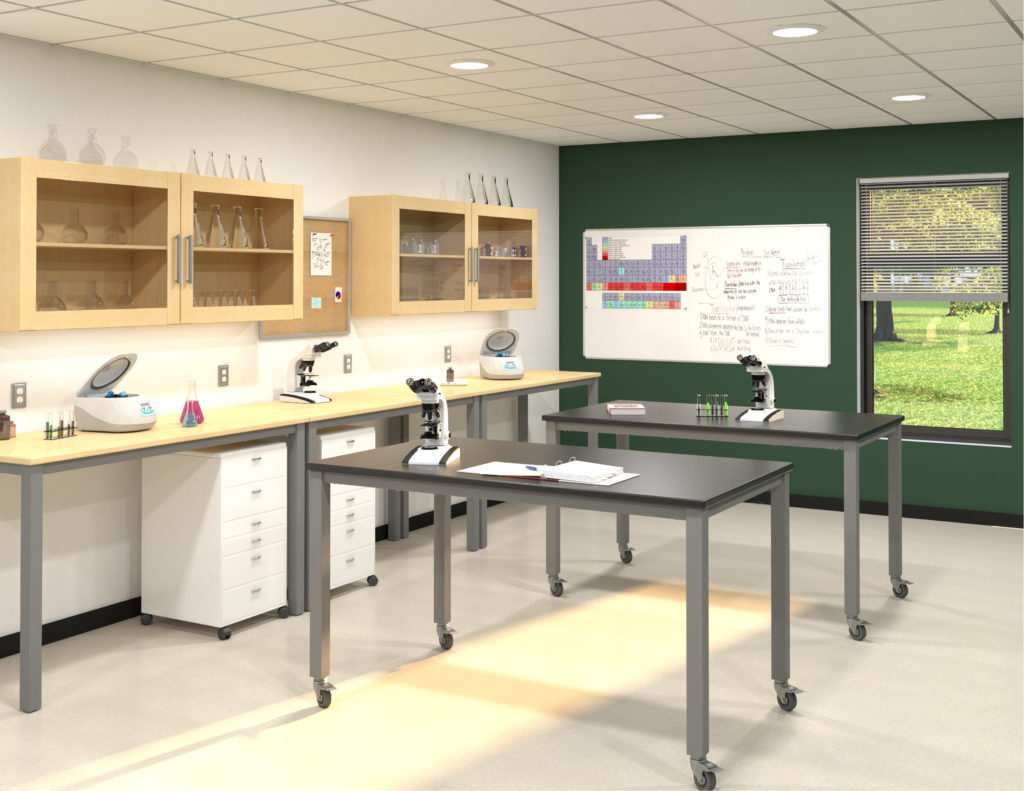 Rendering of science lab