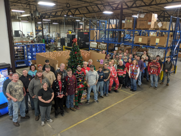 Tis the Season for Giving: 2019 Valley Design Employee Sharing Tree