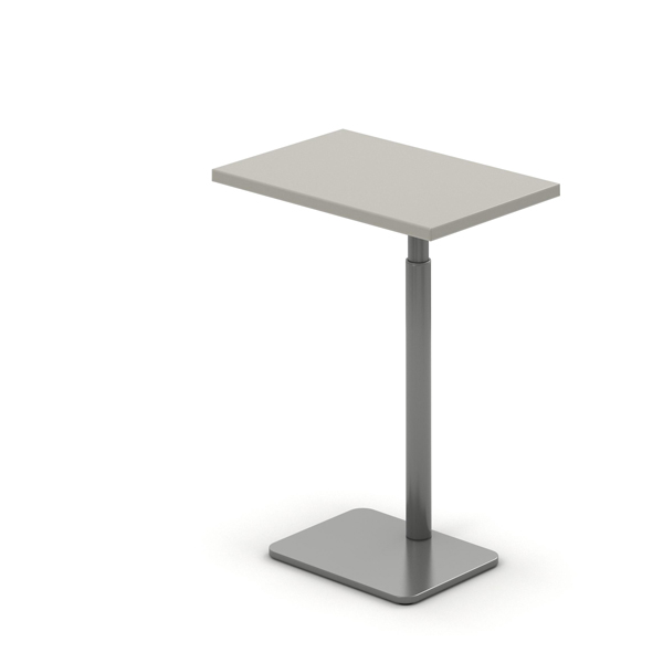 Laptop Table Adjustable Height Rectangle 12x9